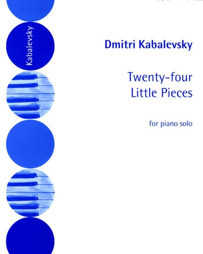 24 Little Pieces for Piano, op. 39