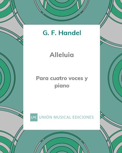 """Alleluia (del oratorio """"El Mesías"""")"""