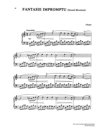 Fantasie Impromptu (2nd Movement)
