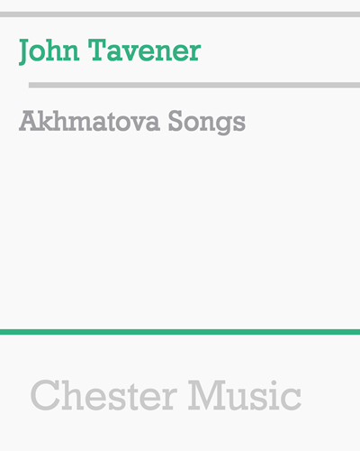 Akhmatova Songs