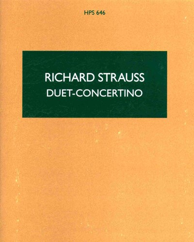 Duet-Concertino for Clarinet and Bassoon