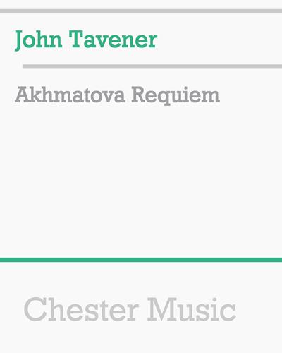 Akhmatova Requiem
