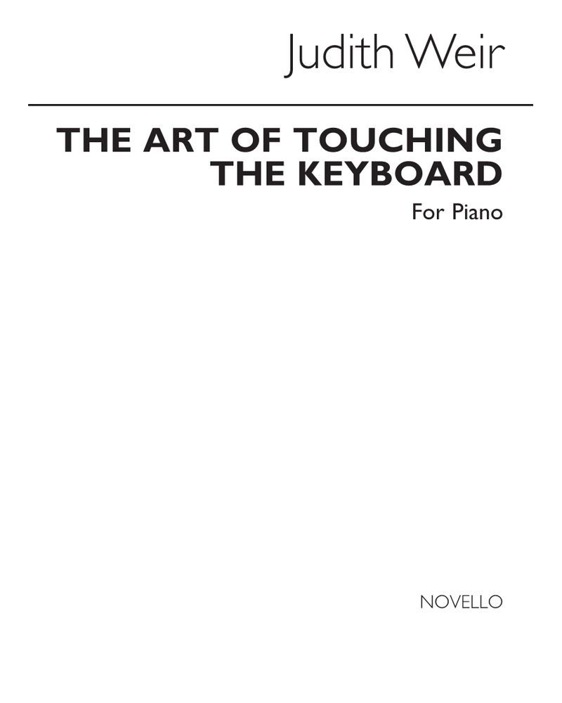 The Art of Touching the Keyboard