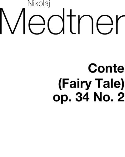 26 Medtner   piano Quatre Contes op