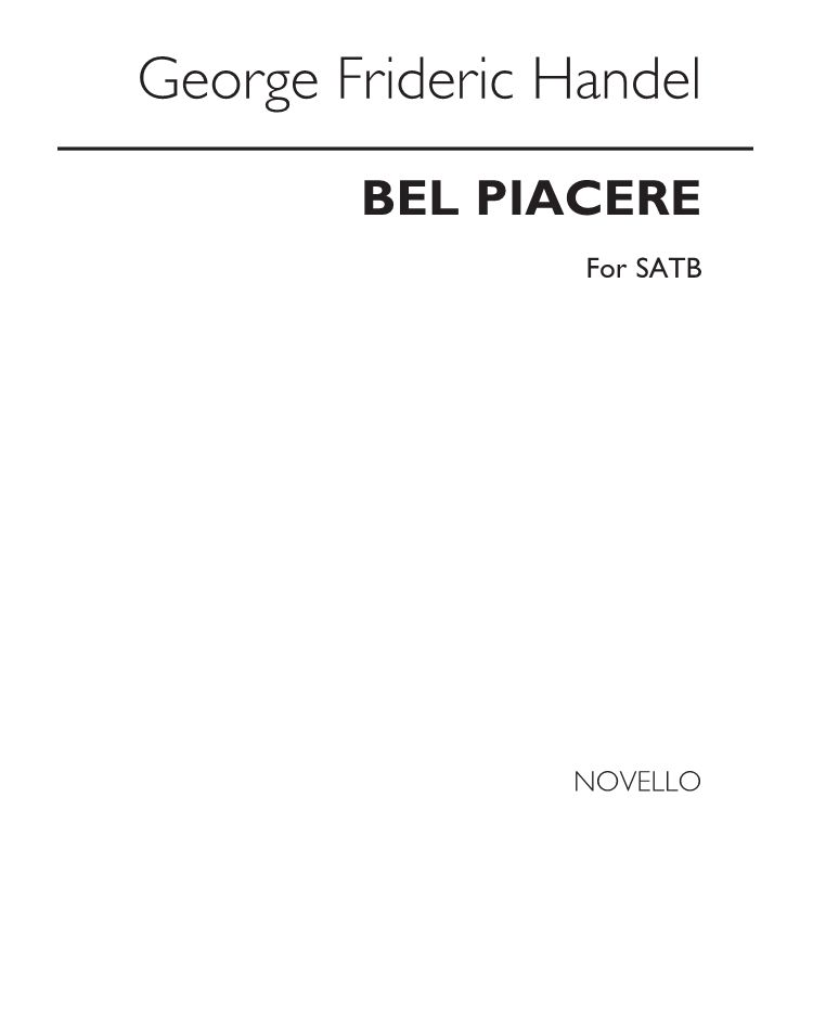 Bel Piacere (Countless Pleasures) for SATB