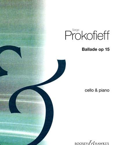 Ballade for Cello and Piano, op. 15