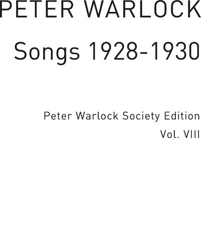 Songs 1928-1930 Vol. 8