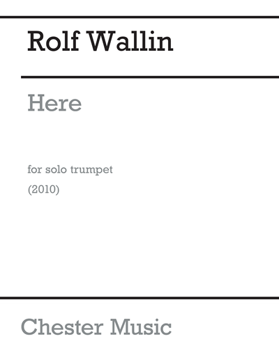 Here for Solo Trumpet