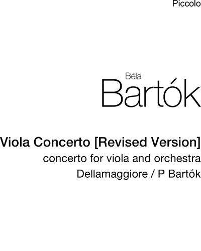 Viola Concerto [Revised Version]
