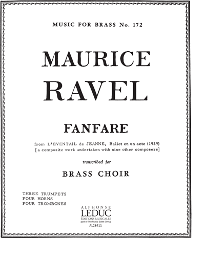 Fanfare (from L'Eventail De Jeanne) No. 172