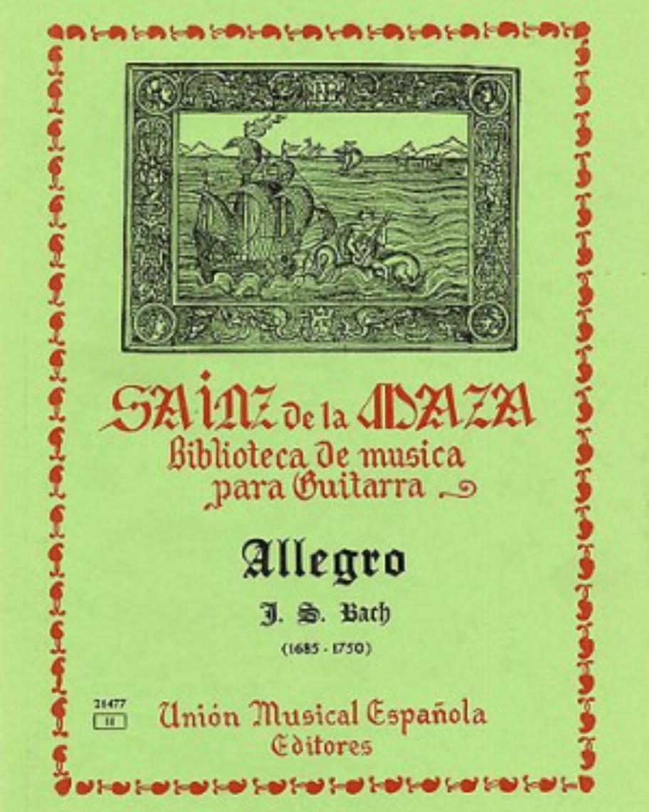 Allegro (Versión para guitarra)