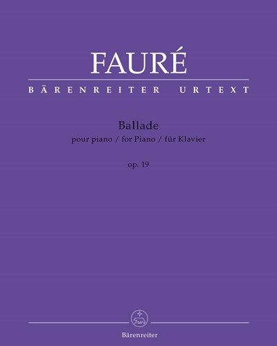 Ballade for Piano op. 19