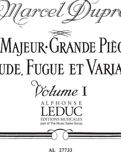 Œuvres complètes pour Orgue de César Franck Vol. 1