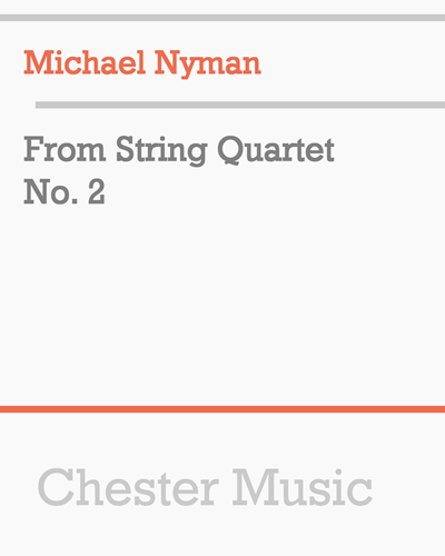 From String Quartet No. 2
