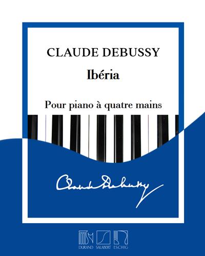 """Ibéria (extrait n. 2 des """"Images"""") - Pour piano à quatre mains"""