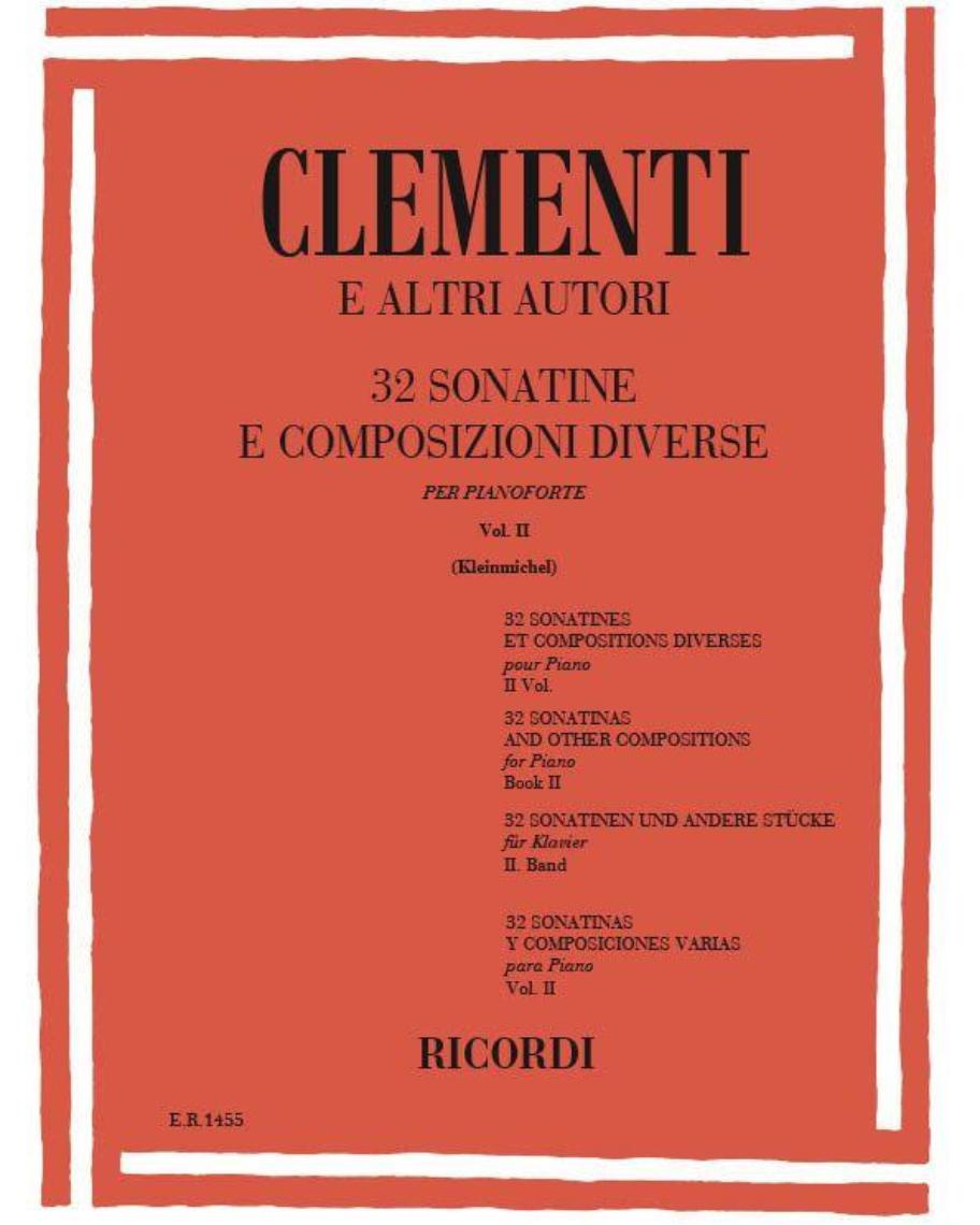 32 Sonatine e composizioni diverse Vol. II