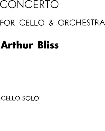 Concerto for Cello and Orchestra