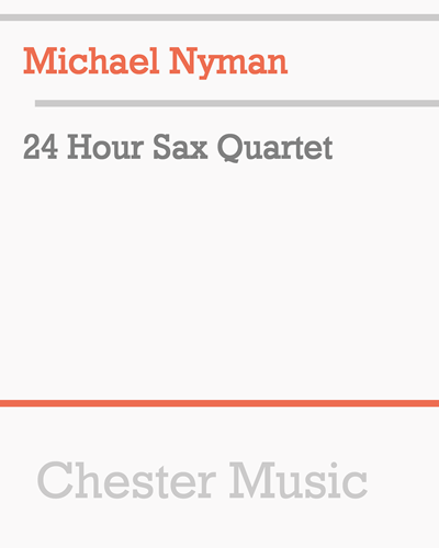 24 Hour Sax Quartet