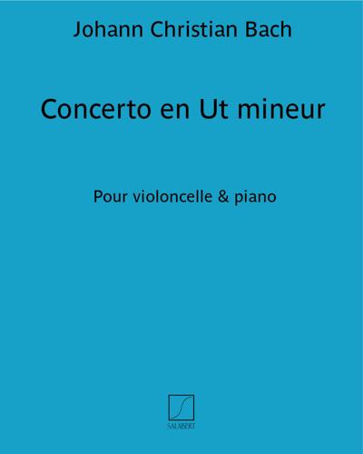 Concerto en Ut mineur - Pour violoncelle & piano