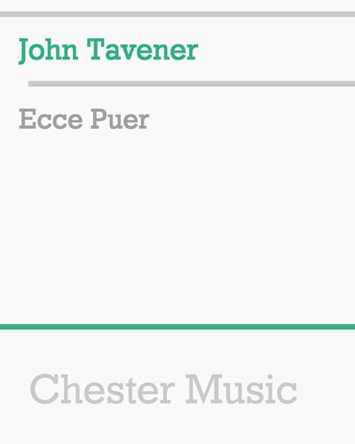 Ecce Puer