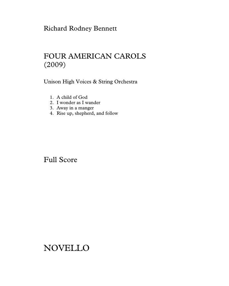 Four American Carols