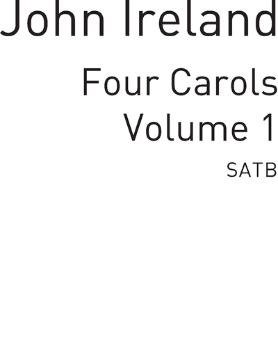 Four Carols for SATB Vol. 1