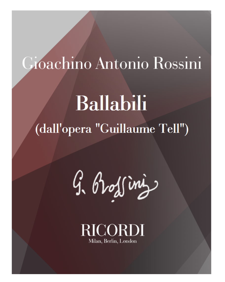 "Ballabili (dall'opera ""Guillaume Tell"")"