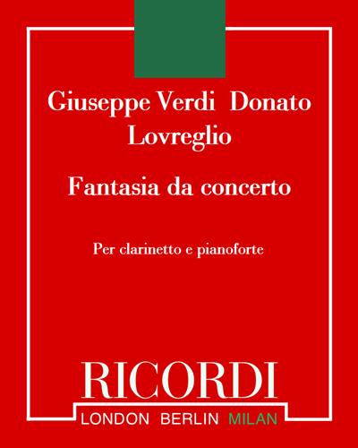 """Fantasia da concerto (su motivi del """"La Traviata"""")"""