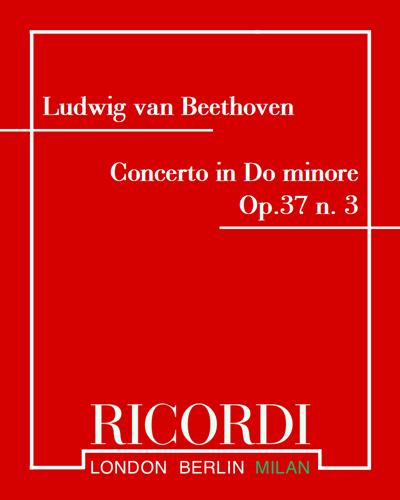 Concerto in Do minore Op.37 n. 3