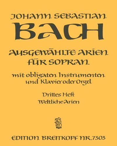 Ausgewählte Arien für Sopran - Heft 3: Weltliche Arien