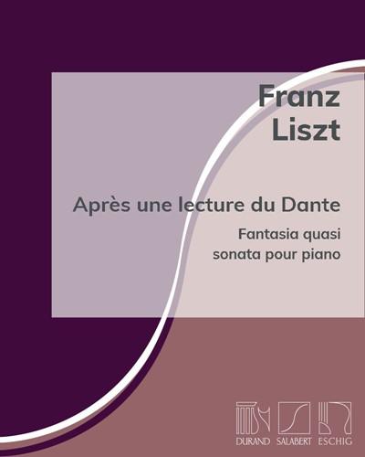 """Après une lecture du Dante (n. 7 de la """"2ᵉ Année de la Pélerinage"""")"""