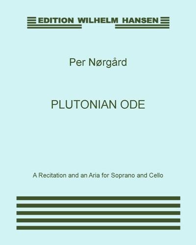 Plutonian Ode