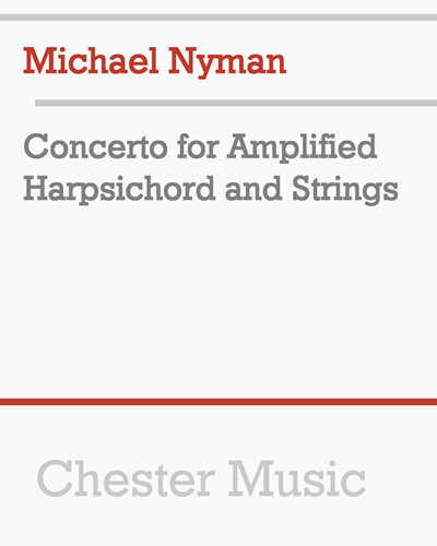Concerto for Amplified Harpsichord and Strings