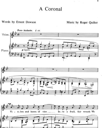 Roger Quilter Twelve Songs Vol 12 Sheet Music Nkoda
