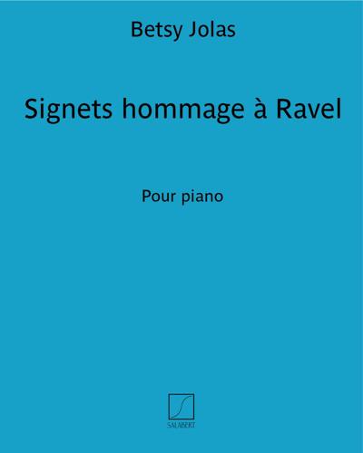 Signets (hommage à Ravel)
