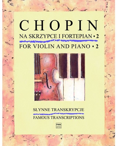 Chopin for Violin and Piano, Book 2