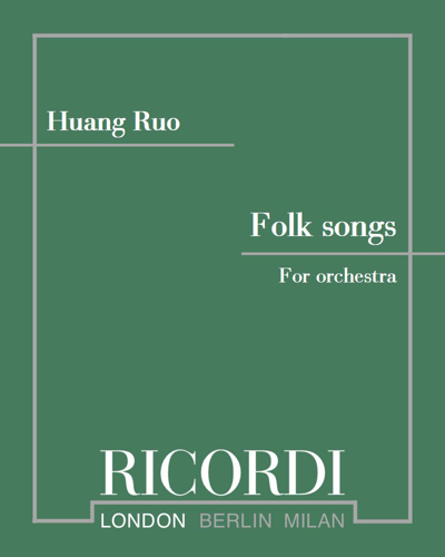 Folk songs for orchestra