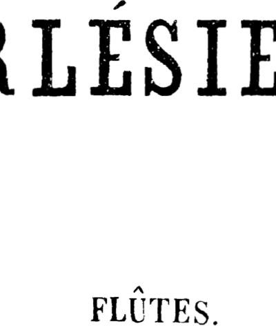 L'Arlésienne Suite n. 1