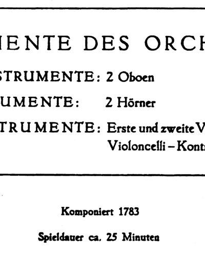 Cello Concerto in D major