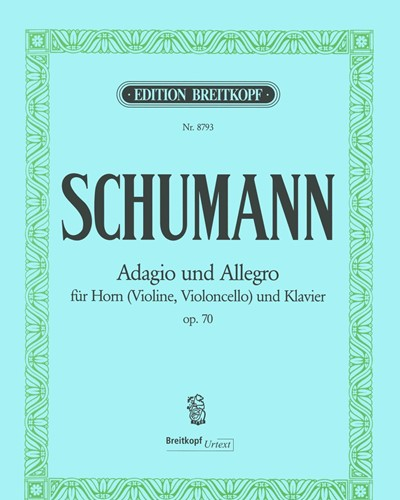 Adagio und Allegro As-dur op. 70