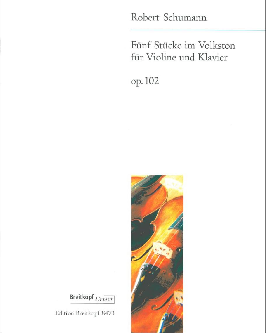 5 Stücke im Volkston op. 102