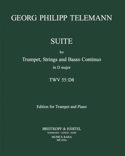 Suite D-dur TWV 55:D8