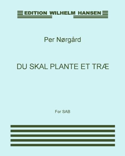 Du skal plante et træ