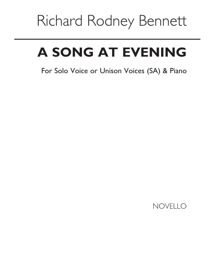 A Song at Evening
