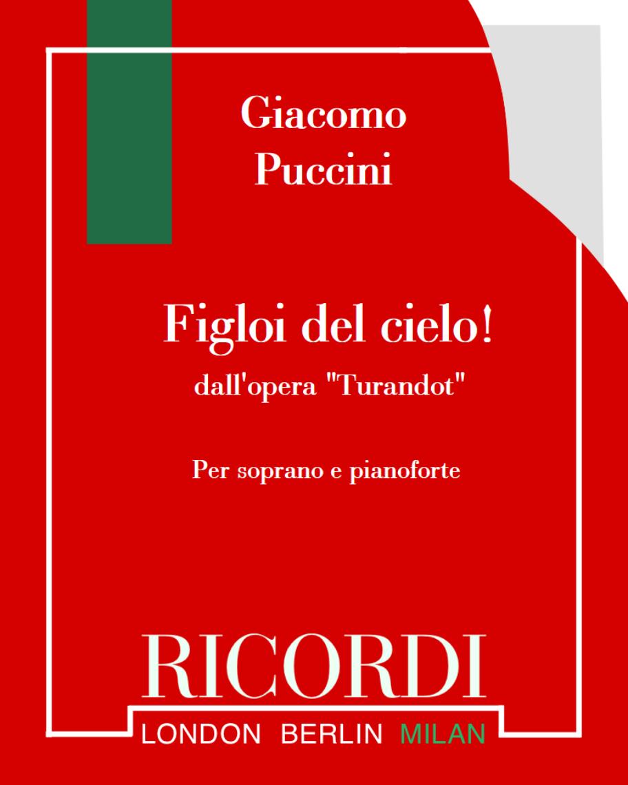 """Figloi del cielo! (dall'opera """"Turandot"""")"""