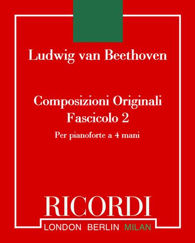 Composizioni originali per pianoforte a 4 mani - Fascicolo 2