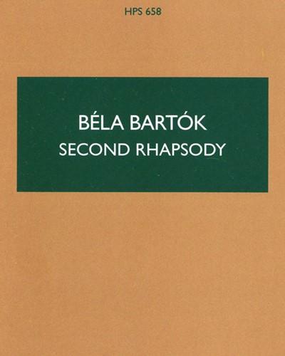 Rhapsody No. 2, Sz. 90
