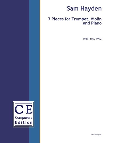 3 Pieces for Trumpet, Violin and Piano