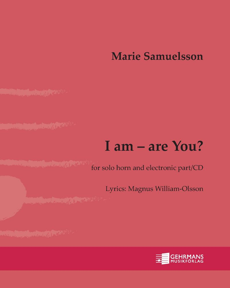 I am  –  are you?