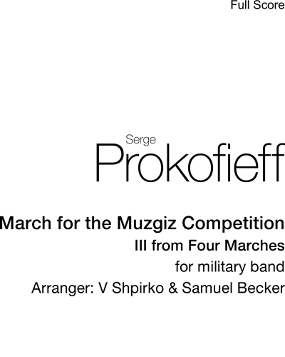 March for the Muzgiz Competition